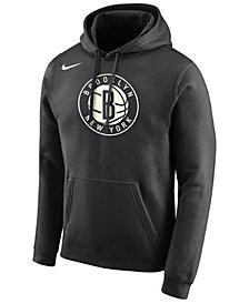 Nike Men's Brooklyn Nets Essential Logo Pullover Hoodie