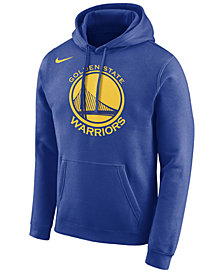 Nike Men's Golden State Warriors Essential Logo Pullover Hoodie