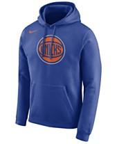 ebddb979d04 Nike Men s New York Knicks Essential Logo Pullover Hoodie