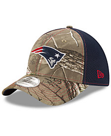 New Era New England Patriots Realtree Camo Team Color Neo 39THIRTY Cap