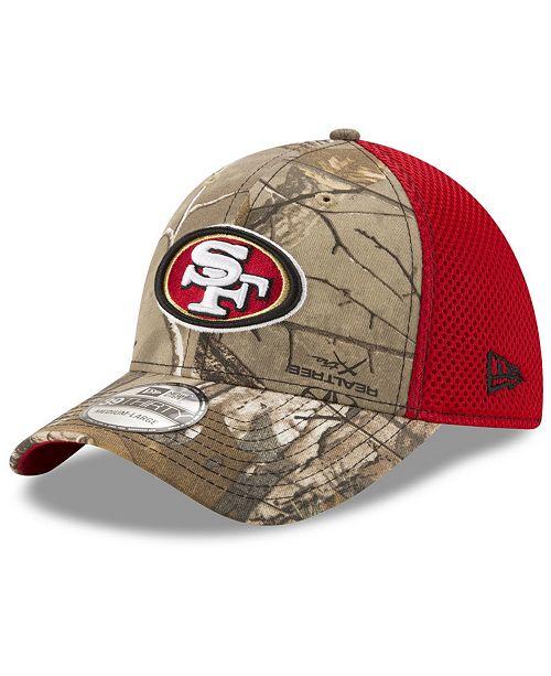 premium selection 87f46 40979 ... New Era San Francisco 49ers Realtree Camo Team Color Neo 39THIRTY Cap  ...