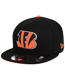 New Era Cincinnati Bengals Team Clear 9FIFTY Snapback Cap