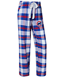 College Concepts Women's Chicago Cubs Headway Flannel Pajama Pants