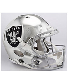 Riddell Oakland Raiders Speed Chrome Alt Authentic Helmet