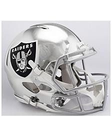 Riddell Oakland Raiders Speed Chrome Alt Authentic Helmet