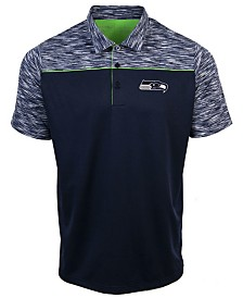 Authentic NFL Apparel Men's Seattle Seahawks Final Play Polo