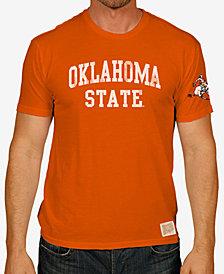Retro Brand Men's Oklahoma State Cowboys Vintage Cotton T-Shirt