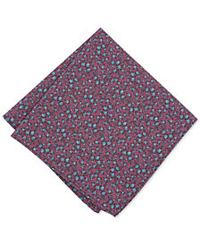 Bar III Men's Watercolor Floral Pocket Square, Created for Macy's