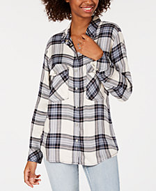 Sanctuary Printed Boyfriend Shirt