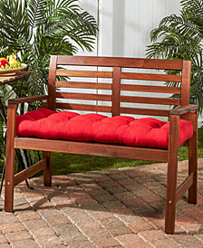 Sunbrella Fabric Wheat Outdoor Swing and Bench Cushion