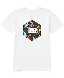 Billabong Little Boys Hexagon T-Shirt