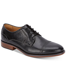 Dockers Men's Hawley Cap-Toe Leather Oxfords