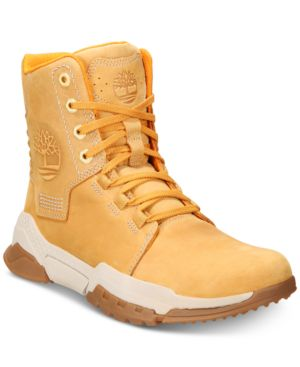 TIMBERLAND Men'S Cityforce Reveal Leather Boots, Brown/Orange in Wheat Nubuck