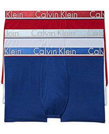 Calvin Klein Men's  Comfort Microfiber Trunk 3 Pack