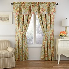Spring Bling Window Pieced Scalloped Valance