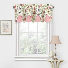 Waverly Carolina Crewel Wave Window Valance