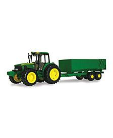 Tomy - 1-16 Scale Big Farm John Deere Tractor With Wagon