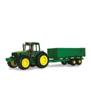 Tomy - 1:16 Scale Big Farm John Deere Tractor With Wagon