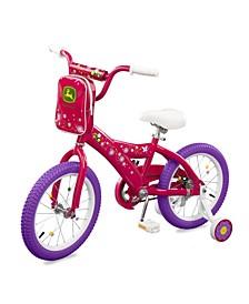 - John Deere 16 Inch Girls Bicycle, Pink