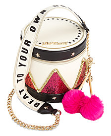 Betsey Johnson Drummer Boy Crossbody