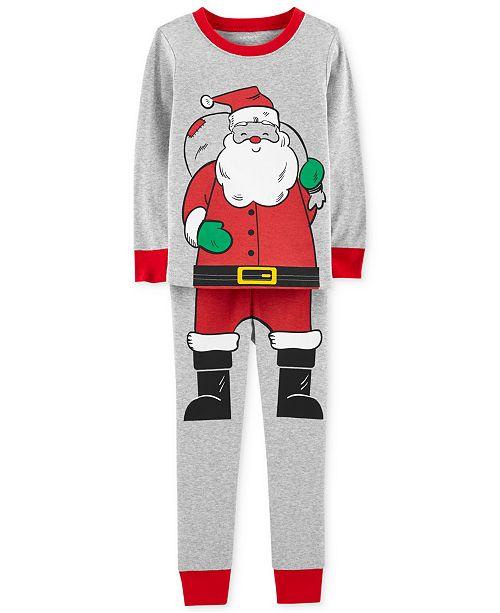 Carter s Baby Boys 2-Pc. Snug-Fit Santa Cotton Pajamas Set - Pajamas ... f999429b7