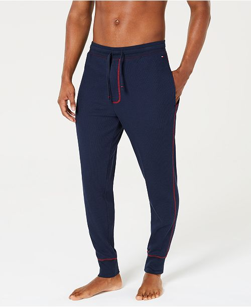 46de423a0 Tommy Hilfiger Men's Thermal Joggers, Created for Macy's & Reviews ...