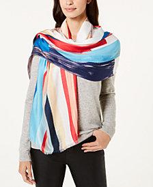 Calvin Klein Bold Graphic-Print Soft Wrap
