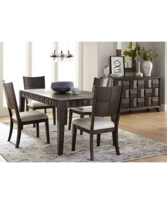 Matrix Dining Furniture, 7-Pc. Set (Table & 6 Side Chairs), Created for Macy's