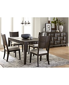 Matrix Dining 5-Pc. Set (Table & 4 Side Chairs), Created for Macy's