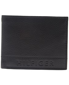 Men's RFID Pebbled Leather Wallet