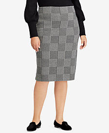 Lauren Ralph Lauren Plus Size Wool Pencil Skirt