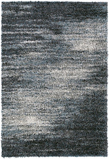 "D Style Jackson Shag Reflection Charcoal 3'3"" x 5'1"" Area Rug"