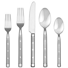 Shangrila Frosted 20-Pc. Flatware Set, Service for 4