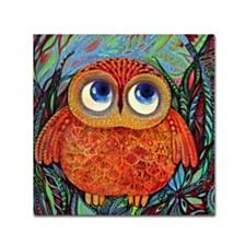 Oxana Ziaka 'Baby Owl' Canvas Art Collection