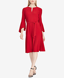 Lauren Ralph Lauren Keyhole A-Line Dress