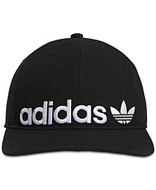 adidas Men's Originals Relaxed Banner-Logo Cap