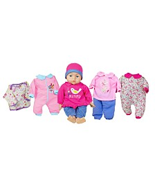 Lissi Doll - Talking Baby Set, 18 Inches