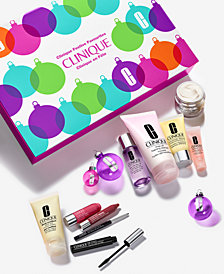 NEW! Clinique Festive Favourites Set, only $49.50 with any $29.50 Clinique purchase! (a $198 value!)