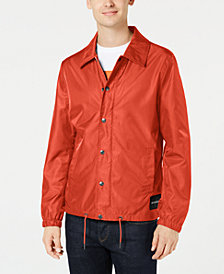 Calvin Klein Jeans Men's Monogram  Coaches Jacket Created for Macy's