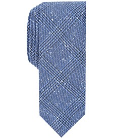 Penguin Men's Dez Plaid Skinny Tie