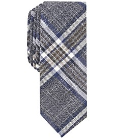 Penguin Men's Greeley Plaid Skinny Tie