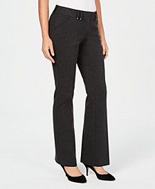 Alfani Ponté-Knit Trousers, Created for Macy's