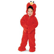 Sesame Street Elmo Plush Deluxe Toddler Boys or Girls Costume
