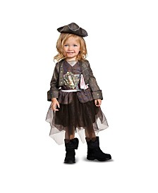 Pirates of The Caribbean 5 Captain Jack Inspired Tutu Classic Toddler Boys Costume