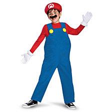 Super Mario Bros. Mario Deluxe Big Boys Costume