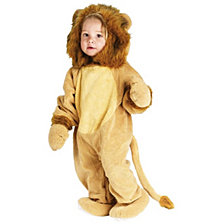 Cuddly Lion Toddler Boys or Girls Costume