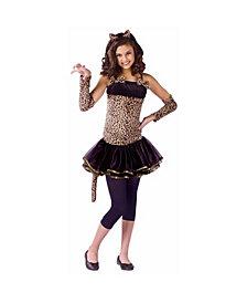 Wild Cat Big Girls Costume