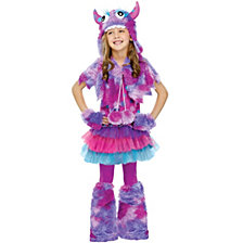 Polka Dot Monster Big Girls Costume