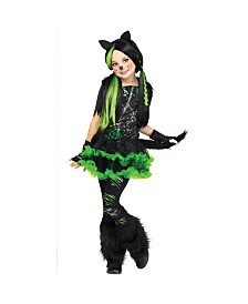 Kool Kat Little and Big Girls Costume