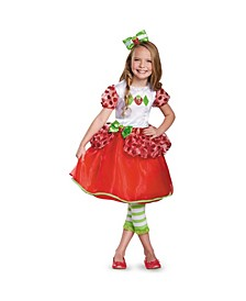 Strawberry Shortcake Deluxe Toddler Little and Big Girls Costume